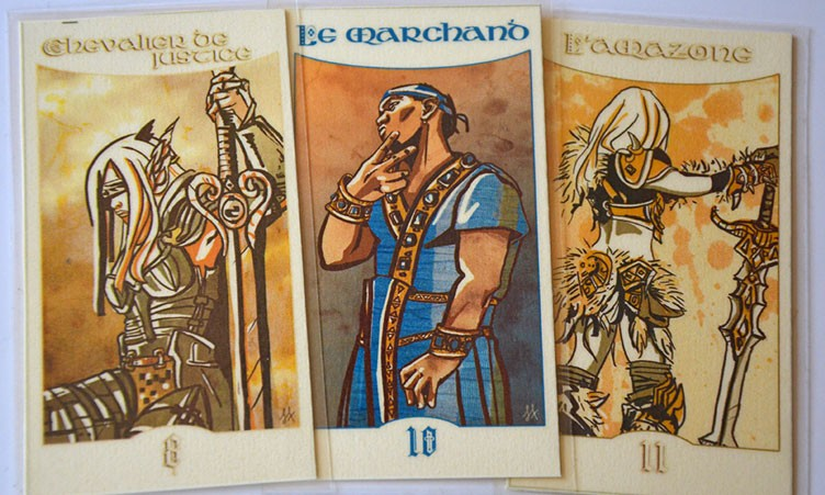 Cartes 8, 10, 11