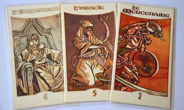 Cartes 4, 5, 7